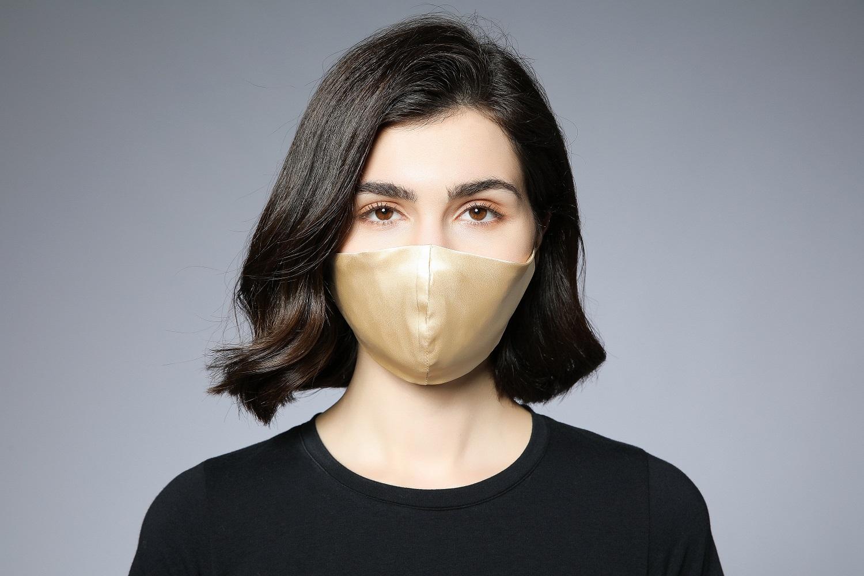 beautiful silk mask for lady