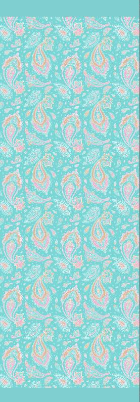 Paisley rayon scarf